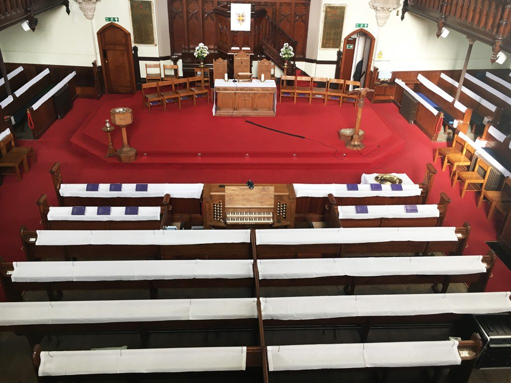 Church-Communion from balcony 2
