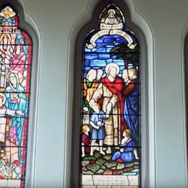 Cadzow Church windows